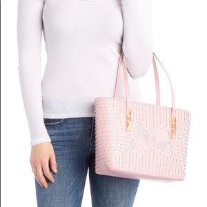 Ted Baker London light Pink Leather Shopper Tote